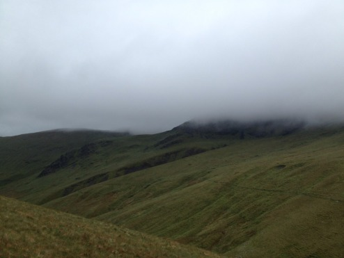 Blencathra Sharp edge June 3rd 2012